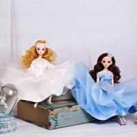 娃娃车载车饰女孩生日节日儿童礼物房间书桌花盆摆件