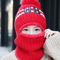 慈颜冬孕妇帽加厚帽子女可爱冬季加绒护耳帽保暖围脖一体产妇帽CY121