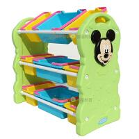 凯蒂猫幼儿园塑料柜 宝宝玩具收纳架 儿童玩具储物置物架