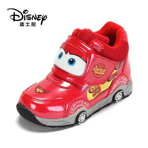 鞋柜/迪士尼冬季保暖舒适男童冬靴卡通可爱儿童鞋1