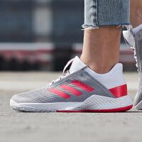 adidas阿迪达斯女鞋网球鞋2019新款ADIZERO网球比赛训练运动鞋CG6364