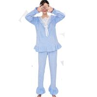 慈颜外出月子服秋冬产后加厚加绒哺乳衣秋季孕妇睡衣套装FJC701
