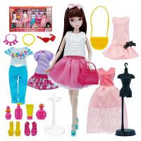 手工可儿娃娃时尚换装女孩玩具洋娃娃儿童礼物