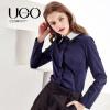 UGOCCAM2018新款女装春装宽松学生简约套头打底T恤卫衣上衣