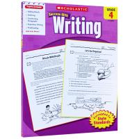 正版 美国小学四年级英语写作练习册 英文版学乐进口原版英语教材 Scholastic Success with Wri