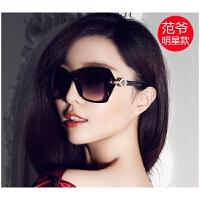 新款女士太阳镜韩版墨镜复古长脸圆脸开车眼镜