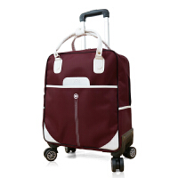 新品拉杆旅行包男女防水牛津布拉杆包万向轮短途旅游可登机行李箱 22寸