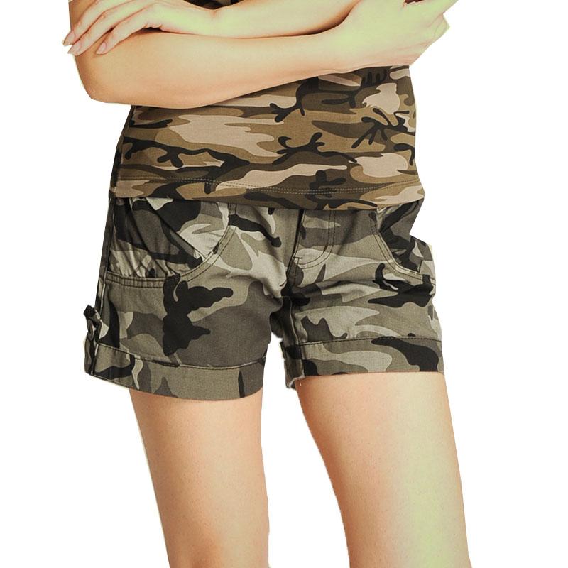 迷彩短裤军迷风多袋裤工装裤迷彩裤女短裤子8828 迷彩 发货周期:一般在付款后2-90天左右发货,具体发货时间请以与客服协商的时间为准