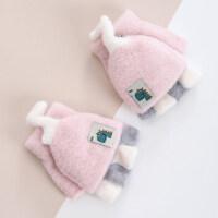 儿童手套秋冬天1-2岁宝宝婴儿3-8男童女童小学生保暖可爱加绒厚