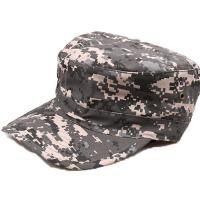 迷彩小兵帽男 平顶户外休闲登山帽 男士遮阳作训帽子 棉质透气 均码