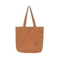 �色帆布包女�渭绨�女包夏�n版大容量手提帆布袋 棕色 �L肩��