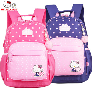 HelloKitty凯蒂猫儿童中小学生书包女童减负双肩休闲书包DL87030