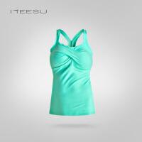 瑜伽服秋冬新款瑜伽运动健身背心修身弹力打底背心显瘦T020
