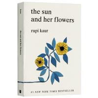 太阳和她的花儿 英文原版The Sun and Her Flowers太阳与花儿 露比考尔自传体诗集心灵治愈Milk a