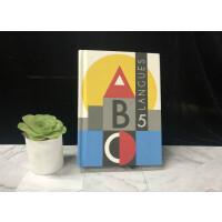 【法语原版】ABC 5种语言 Pop Up 立体书(英语、法语、德语、西班牙语、意大利语) ABC 5 langues