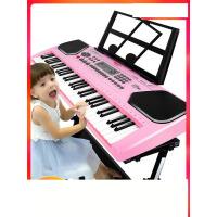 俏娃宝贝儿童电子琴1-3-6岁多功能音乐益智初学女孩玩具宝宝钢琴