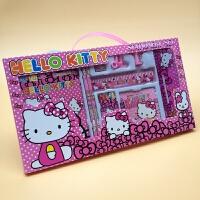 开学手提 儿童幼儿园文具礼品套装 小学生文具套装礼盒批发 102HELLO KITTY