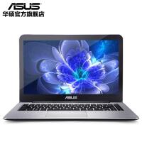 华硕(ASUS)E403NA4200 14英寸四核超轻薄商务笔记本电脑 N4200 4G 128G SSD 集成显卡 银色 金属拉丝面板 闪电发货