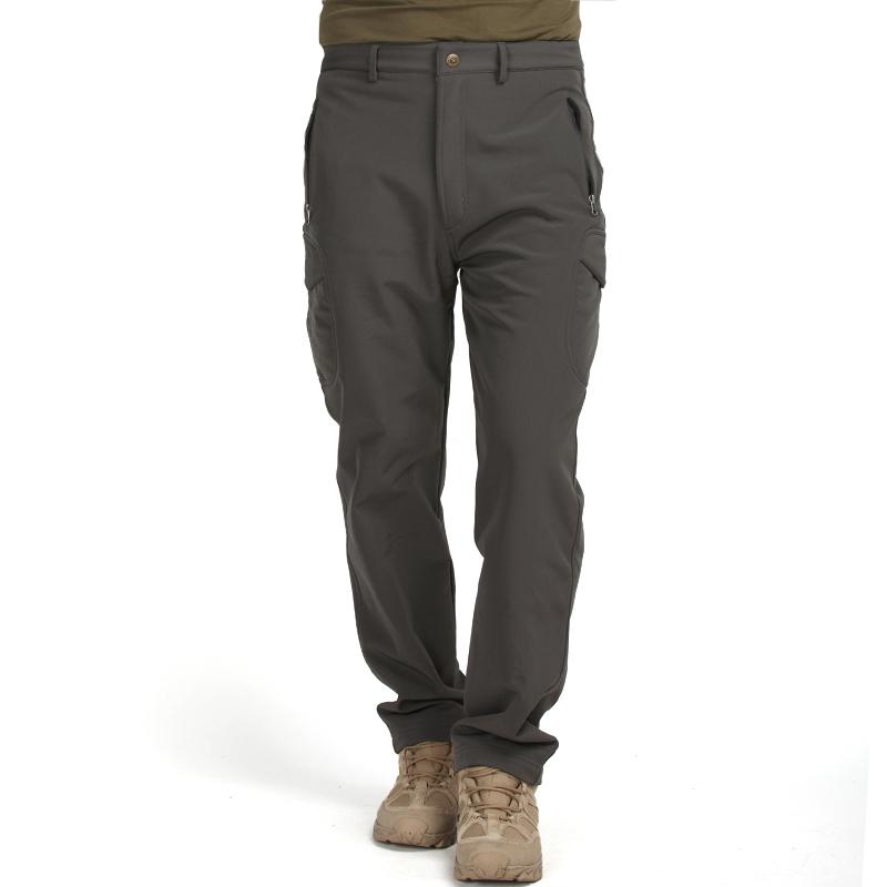 TAD款鲨鱼皮软壳冲锋裤 男士登山裤 战术纯色裤子 防水裤 户外秋冬保暖防风裤  XXX 发货周期:一般在付款后2-90天左右发货,具体发货时间请以与客服协商的时间为准