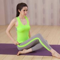 瑜伽服运动套装背心女春夏跑步健身房专业速干衣紧身带胸垫
