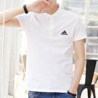 adidas阿迪达斯男短袖运动休闲舒适透气POLO衫CV8322