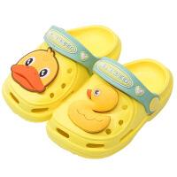 宝宝拖鞋1-3岁夏季2儿童防滑软底幼儿男童婴儿凉拖女童