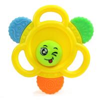 婴儿牙胶玩具 宝宝手摇铃0-3-6-12个月新生儿摇铃幼儿玩具