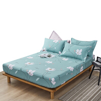 伊迪梦家纺 纯棉床垫保护套罩床笠单件 全棉面料护垫套单品 1.2/1.5/1.8m米单人双人床HC326