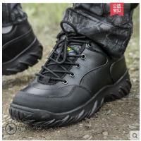 户外低帮特种兵耐军迷野战战术靴作战靴磨减震透气作训靴男士