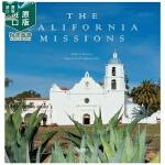 【预 售】The California Missions,加州任务 老建筑 历史古典建筑设计艺术 英文原版英文原版图书籍
