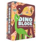 【预订】Dinoblock Board Book恐龙布洛克 英文原版儿童启蒙童书