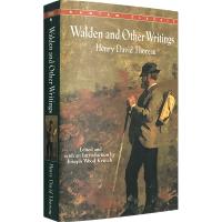 瓦尔登湖及梭罗作品集 英文原版小说 Walden and Other Writings 英文版正版进口英语书籍