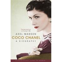 【正版二手8成新】 Coco Chanel可可香奈儿传记 英文原版 Axel Madsen(阿克瑟尔・马德森) Blo