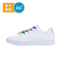【1件2折到手价:57.8】361度童鞋女童鞋春季女童滑板鞋儿童运动鞋N81732703