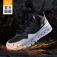 361度男鞋高帮运动鞋男慢跑鞋361加厚保暖减震耐磨跑步鞋