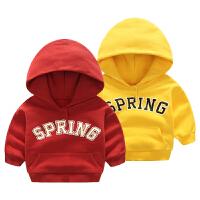 婴儿衣服男女宝宝秋冬装长袖1岁6个月连帽卫衣外套