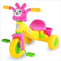 儿童三轮车脚踏车玩具宝宝学步手推车1-3岁男孩女孩玩具