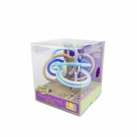 婴幼儿玩具 曼哈顿玩具摇摇铃宝宝儿童礼盒装生日礼物 海洋蓝(透明盒)