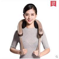 舒适肌肉缓解按摩脖子肩膀按摩仪加热多功能按摩披肩家用肩颈背颈椎按摩器