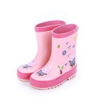 儿童雨鞋幼儿园女童雨靴小猪佩奇胶鞋四季通用男宝宝水鞋
