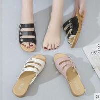 新款时尚厚底女士拖鞋外穿百搭韩版凉鞋坡跟防滑凉拖鞋女