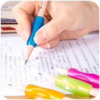 得力学习用品握笔姿势矫正器笔套小学生握笔器儿童写字纠正铅笔套