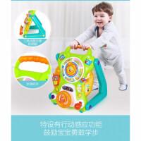 儿童玩具 手推学步车玩具防侧翻宝宝儿童早教益智礼盒装生日礼物 彩色