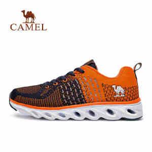 camel骆驼跑步鞋 男春夏季减震透气轻便跑鞋动能环运动鞋