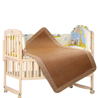 婴儿床凉席冰丝新生儿宝宝凉席婴儿夏季草席子儿童幼儿园凉席 儿童双面贡藤席