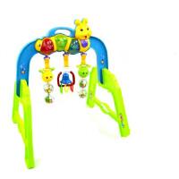 婴幼儿玩具 多功能音乐健身架玩具宝宝儿童早教益智礼盒装生日礼物 荧光绿 其它大小