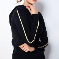【限时抢购】大码女装遮肚子套装时髦韩版2019秋冬新款休闲连帽卫衣裤子两件套