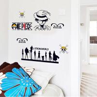 墙贴壁纸卧室儿童房卡通动漫宝宝房间装饰墙上贴画墙壁贴纸