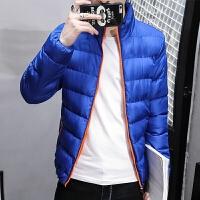 男士外套2018新款男装棉衣韩版修身棉袄潮流帅气冬季袄子冬装