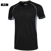 健身短袖男士宽松速干衣运动跑步t恤紧身篮球训练健身服上衣衣服